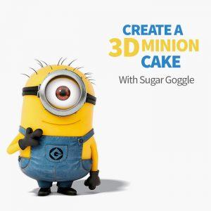 create a 3d minion cake