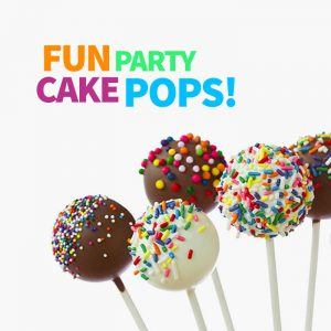 create fun party cake pops