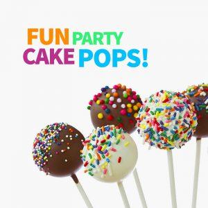 create fun party cake pops