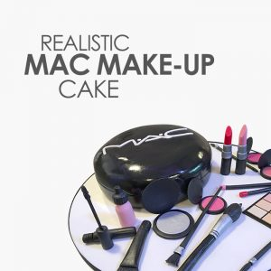 realistic mac makeup cake