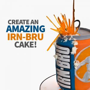 create an amazing irnbru cake