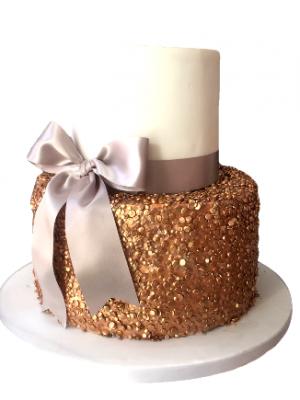 2 Tier Sequin Cake Masterclass