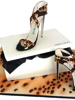 Lepoard Print Heel Cake Masterclass