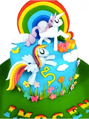 Unicorn Rainbow Cake Masterclass