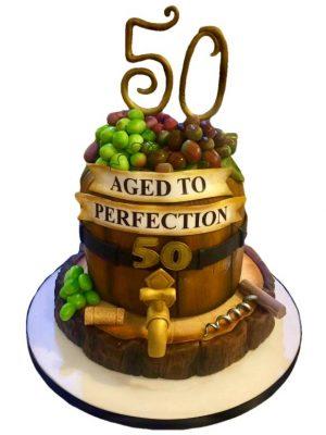 Wine Barrel Cake Masterclass