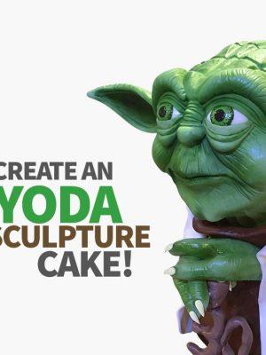 Yoda Sculpture Cake Masterclass